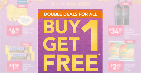 Featured image for Fairprice is offering 1-for-1 Dettol Bodywash, Snickers Peanut Butter and more till 11 Nov 2020