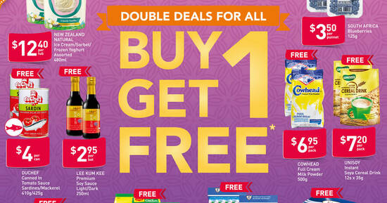 Featured image for Fairprice is offering 1-for-1 New Zealand Natural Ice Cream, Maggi and more till 18 Nov 2020
