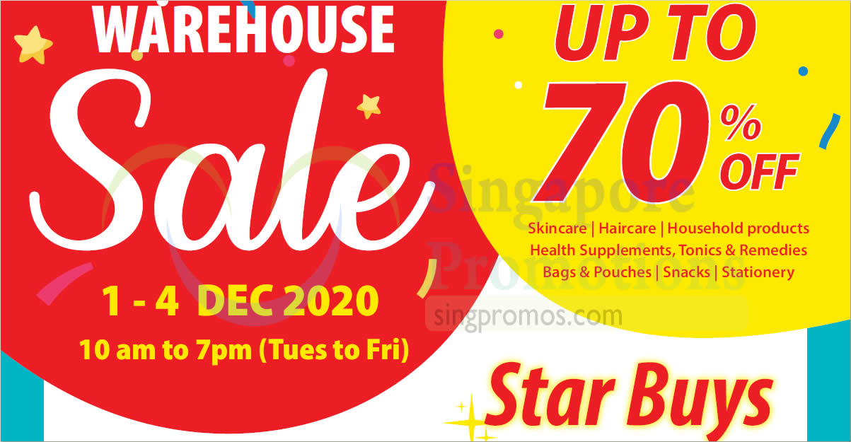 Featured image for HST Medical Up To 70% Off Warehouse Sale from 1 - 4 Dec 2020