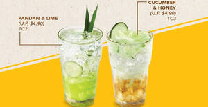 OLDTOWN White Coffee: 1-for-1 Tropical Coolers till 6 Dec 2020