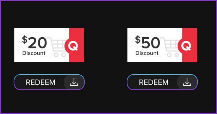 Featured image for Qoo10: Grab free $20 and $50 cart coupons till 30 Nov 2020