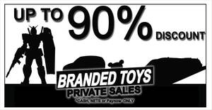 Sheng Tai Branded Toys Sales Is Back – But it is By Appointment Only (2 – 13 Dec 2020 (Wed – Sun))