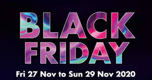 Takashimaya Black Friday 2020 – Up to 70% off (27 – 29 Nov 2020)