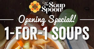 The Soup Spoon: 1-For-1 A La Carte Soups at Lau Pa Sat till 25 Nov 2020