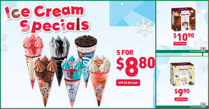 Featured image for 7-Eleven Ice Cream Specials from 30 Dec 2020