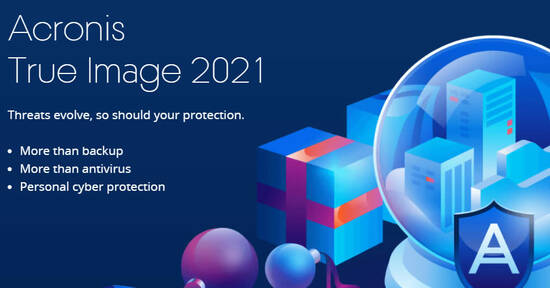 Featured image for Acronis True Image 2021 up to 50% off promo till 13 Apr 2021