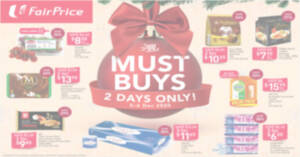 Fairprice 2-day deals from 5 – 6 Dec: Magnum Multipack Ice Cream, Dettol Antiseptic Germicide Liquid & More