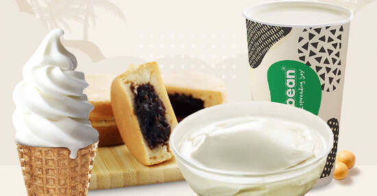 Featured image for Jollibean Assorted Deal: $0.90 Soy Milk / Beancurd / Maru / Soy Tofu Ice Cream (From 20 Dec 2020)