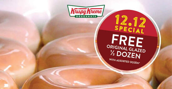 Krispy Kreme feat 10 Dec 2020