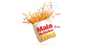 Featured image for McDonald's S'pore launches new Mala McShaker™ Fries from 31 Dec 2020