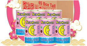 $188 (~$31.33 each) for six New Moon New Zealand Abalone 425g cans (free shipping) (From 16 Jan 2021)