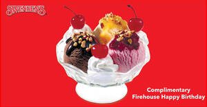 Featured image for Swensen's: Free Firehouse Happy Birthday Sundae for Cool Rewards Members (Free Membership) (From 11 Dec 2020)