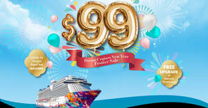 Dream Cruises latest promo offers Balcony Specials cruises from S$99 per person till 31 Jan 2021