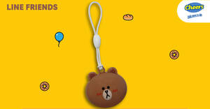 EZ-Link releases new LINE FRIENDS BROWN EZ-Link charm from 21 Jan 2021