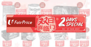 Featured image for Fairprice 2-day deals from 30 – 31 Jan: New Moon New Zealand Abalone, Ferrero Rocher, Golden Chef & More