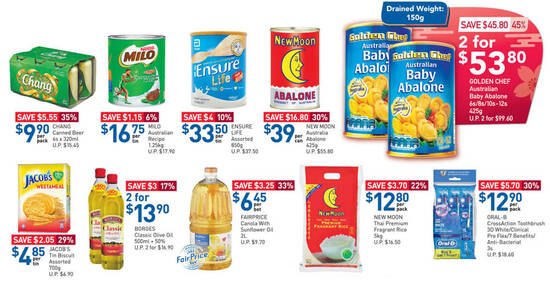 Featured image for Fairprice 3-days only offers: New Moon Australia Abalone, Golden Chef Australian Baby Abalone & More till 31 Jan 2021