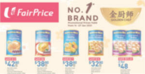Fairprice: Golden Chef Abalone, Gift Sets & other CNY offers valid till 27 Jan 2021