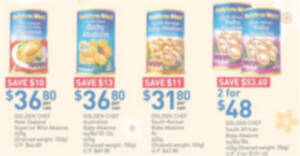Fairprice: Golden Chef Abalone, Gift Sets & other CNY offers valid till 3 Feb 2021