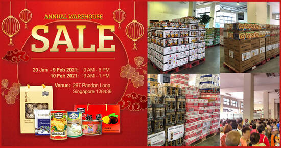 Featured image for Hosen's annual warehouse sale to return from 20 Jan - 10 Feb 2021