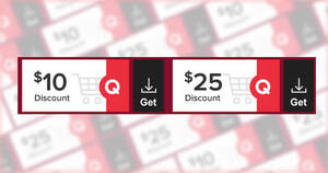 Qoo10: Grab free $10 and $25 cart coupons till 16 Jan 2021