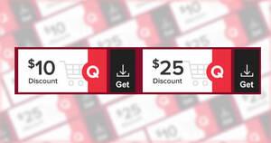 Qoo10: Grab free $10 and $25 cart coupons till 16 Jan 2021