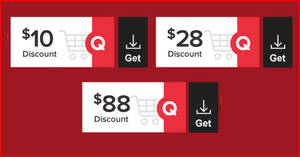 Qoo10: CNY Super Sale – grab $10, $28 & $88 cart coupons daily till 22 Jan 2021