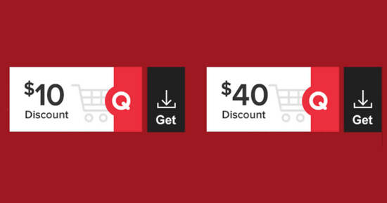 Featured image for Qoo10: Grab free $10 and $40 cart coupons till 21 Feb 2021