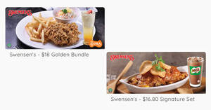 Featured image for Swensen's: $16.80 Signature Set and $18 Golden Bundle deals valid till 31 March 2021
