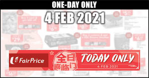 Featured image for Fairprice 1-day deals on 4 Feb: Skylight New Zealand Superior Abalone, Coca-Cola & More