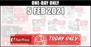 Featured image for Fairprice 1-day deals on 5 Feb: GOLDEN CHEF Australian Baby Abalone, Heaven and Earth & More