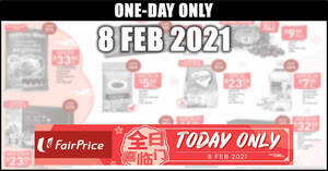 Featured image for Fairprice 1-day deals on 8 Feb: GOLDEN CHEF Australian Premium Wild Abalone, Heaven and Earth & More