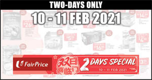 Featured image for Fairprice 2-days deals 10 – 11 Feb: $28 Skylight New Zealand Superior Abalone & More