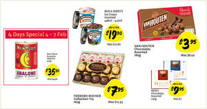 Featured image for Giant: $36 New Moon Australia Abalone, Ben & Jerry's 2-for-$19.90, Ferrero Rocher Collection & more valid till up to 11 Feb 2021