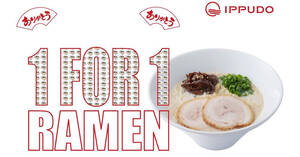 IPPUDO: 1-for-1 ramen promotion at Shaw Centre on 1 March 2021