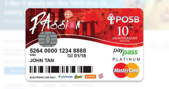 Featured image for POSB PAssion cardholders enjoy 1-FOR-1 offers at All Cathay Cineplexes, S.E.A. Aquarium & more on 10 August 2021