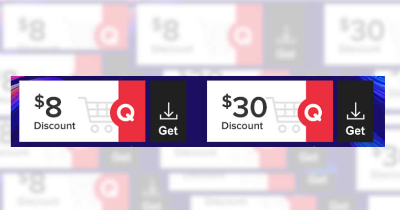 Featured image for Qoo10: Grab free $8 and $30 cart coupons till 23 May 2021