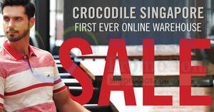 Crocodile first-ever Digital Warehouse Sale now happening till 4 April 2021