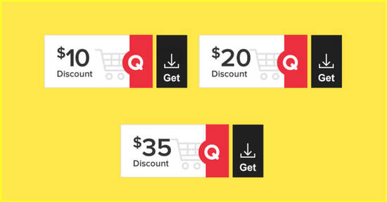 Featured image for Qoo10: Super Sale - grab $10, $20 & $35 cart coupons daily till 26 Mar 2021