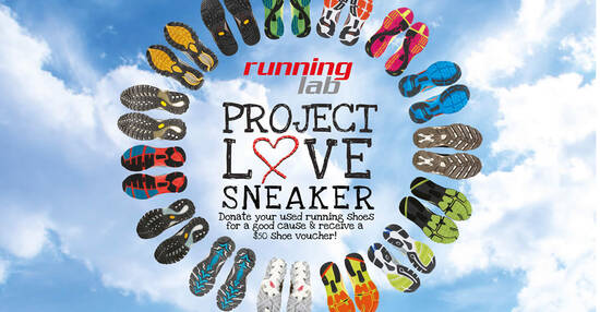 Featured image for Running Lab: Donate your USED running shoes and receive $50 shoe voucher till 31 March 2021