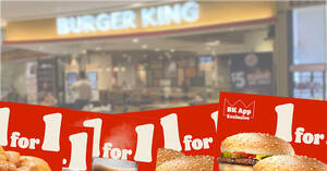 Burger King S'pore releases nine 1-for-1 coupon deals valid till 15 May 2021