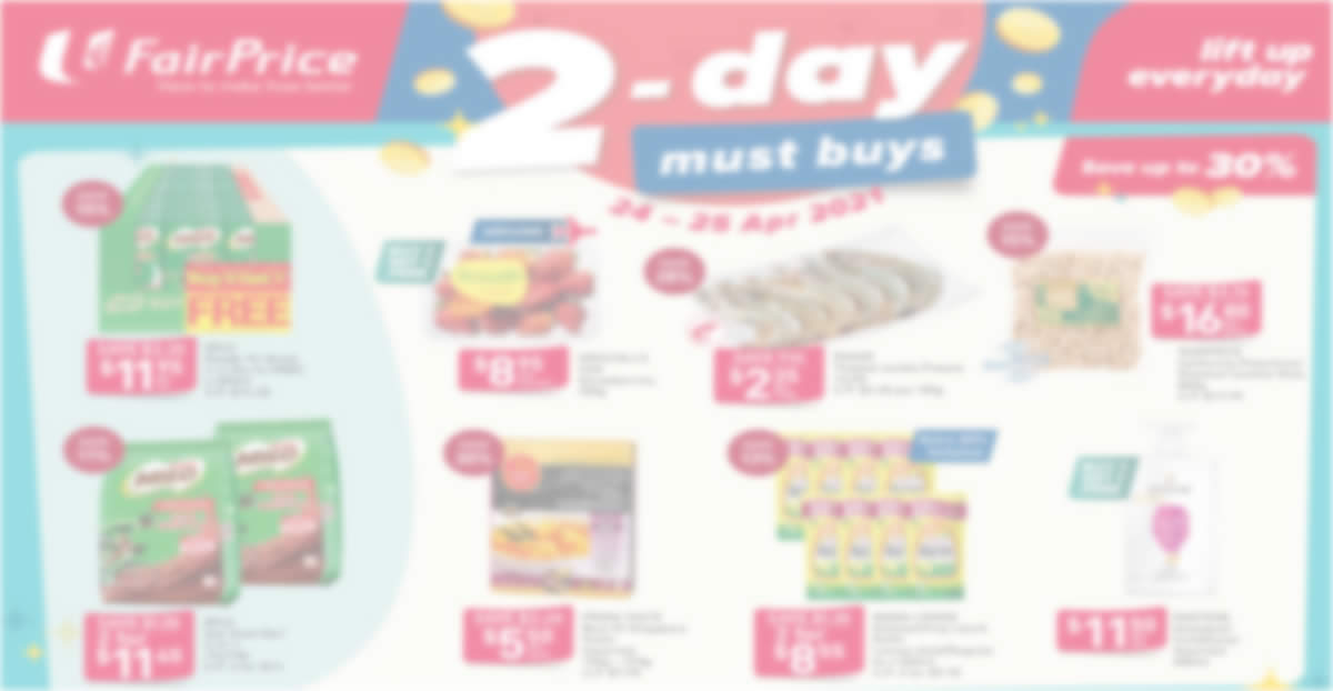 Featured image for Fairprice 2-days deals: Buy-1-Get-1-Free Driscoll's USA Strawberries, Pantene and other deals till 25 Apr 2021