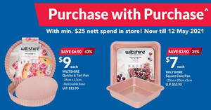 Fairprice Xtra: Spend & Redeem Discounted Wiltshire Rose Gold bakery items till 12 May 2021