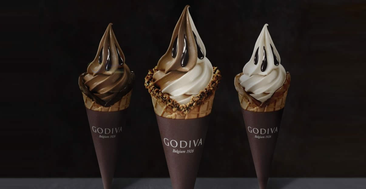 Featured image for GODIVA is offering 1-for-1 Soft Serve at Bugis Junction from 27 - 29 April 2021