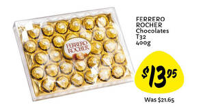 Giant is offering 35% off Ferrero Rocher 32pc box till 28 April 2021