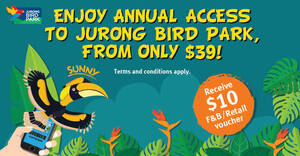 Featured image for Jurong Bird Park: Enjoy 1 year membership at the price of a 1-day ticket (From 6 April 2021)