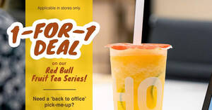 Featured image for LiHO Tea: 1-for-1 Red Bull Fruit Tea line from 7 – 9 April 2021