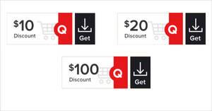 Featured image for Qoo10: Super Sale – grab $10, $20 & $100 cart coupons daily till 10 Sep 2021