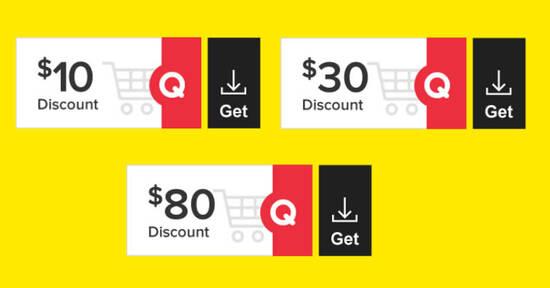 Featured image for Qoo10 Super Sale Coupon - Grab $10, $30 & $80 cart coupons till 12 April 2021