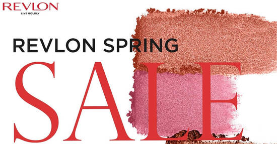 Featured image for Revlon spring sale offers discounts of up to 80% off from 6 - 9 April 2021