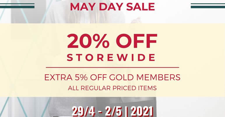 Featured image for The Wallet Shop: 20% Storewide Sale Now On till 2 May 2021